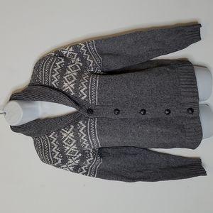 OLD NAVY Rolled Down Shawl Collar Cardigan